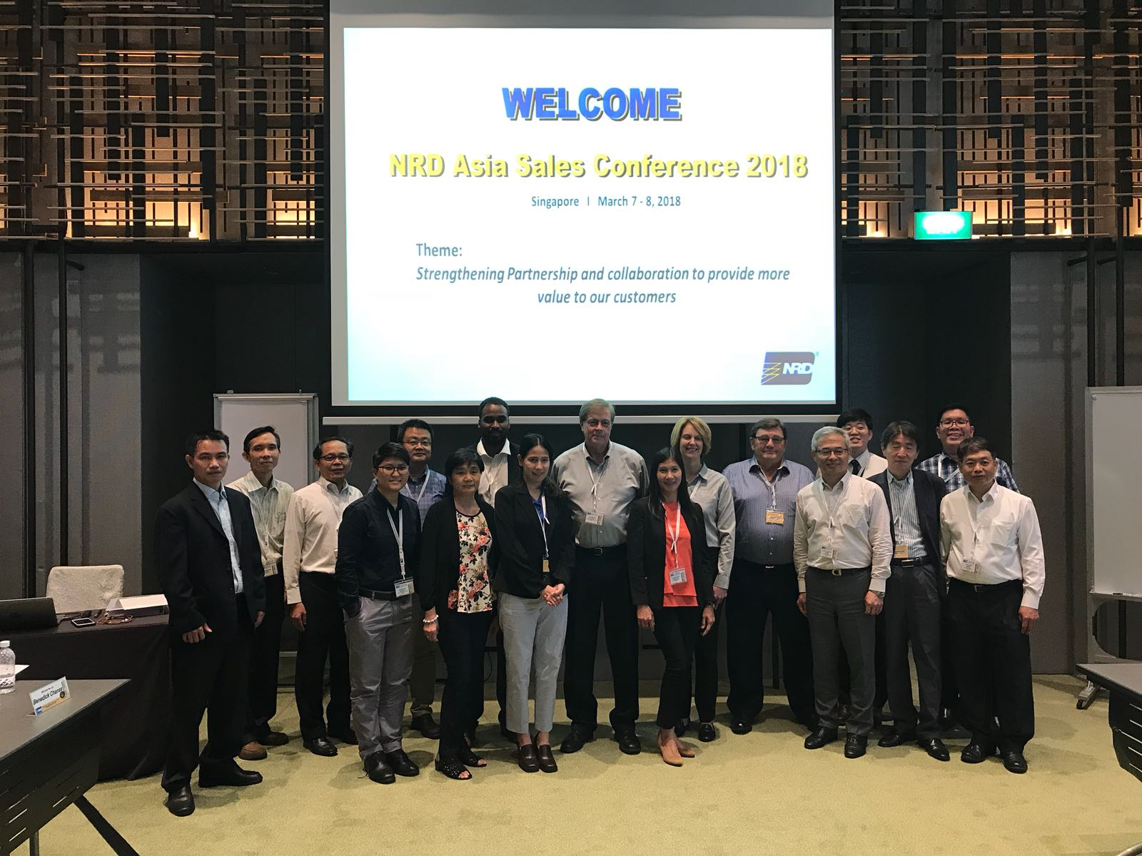 NRD Asia Sales Conference 2018