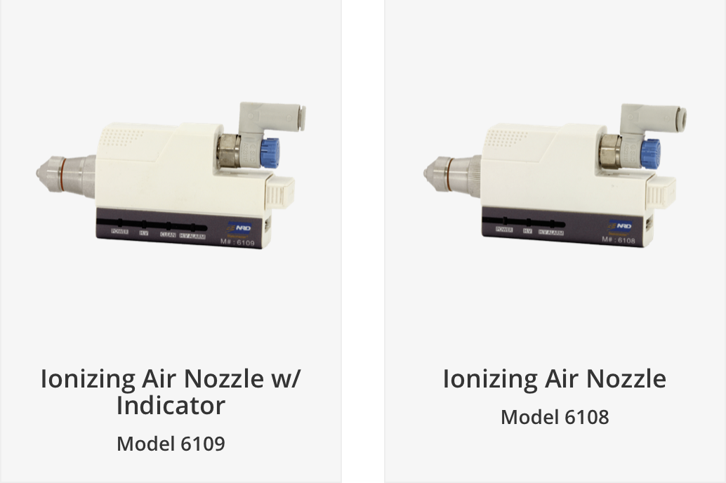 NRD, LLC Creates Ionizing Air Nozzles to Deliver Reliable Neutralization for Technology, Laboratory, and Industrial Environments