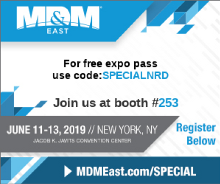 NRD, LLC is Providing 8000 Professionals Static Control Solutions at the Annual MD&M East Expo